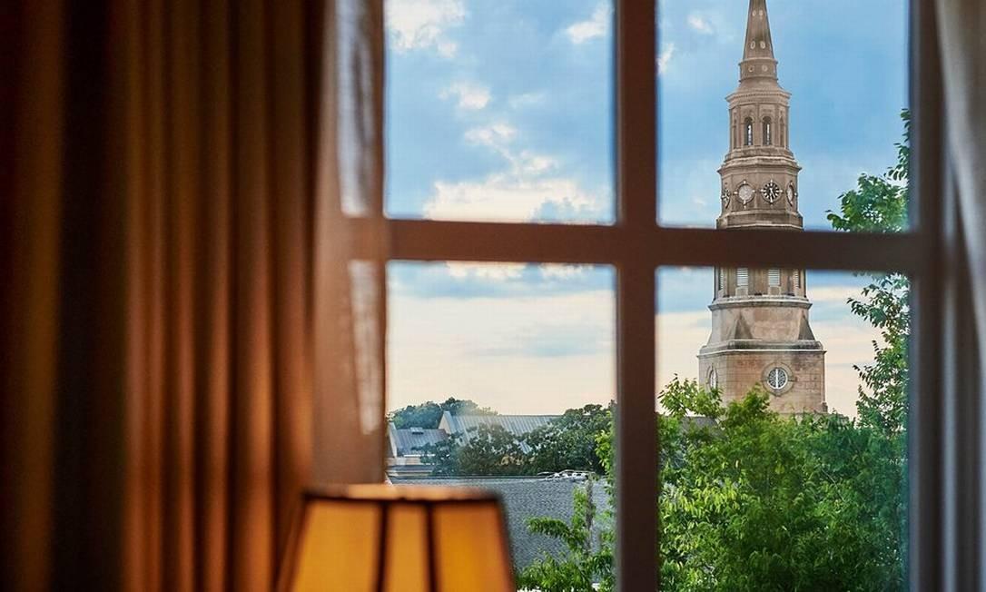 Vista do French Quarter Inn Exterior, em Charleston, na Carolina do Sul Foto: Divulgação/Tripadvisor
