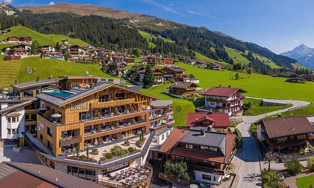 Hotel Alpin Spa Tuxerhof, em Tux, na Áustria Foto: Divulgação/Tripadvisor