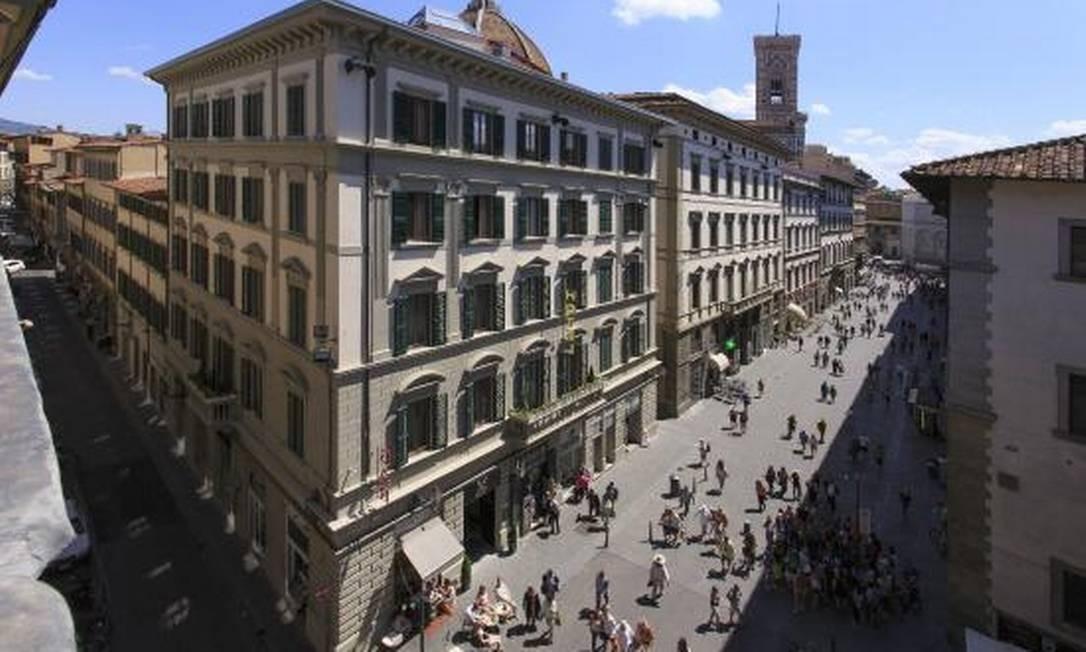 Hotel Spadai, na Florença, Itália Foto: Divulgação/Tripadvisor