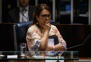 O conselheiro disse que a senadora Katia Abreu (PDT-TO) articulou contra sua indicação Foto: Daniel Marenco / Agência O Globo