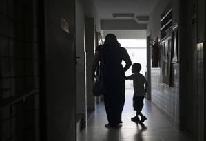 Obra Social Dona Meca, na Zona Oeste do Rio: instituição filantrópica atravessa graves problemas financeiros Foto: Bruno Poppe / Agência O Globo/4-6-2014
