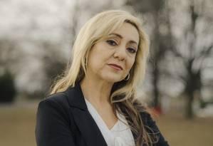 Lorena Gallo, antes conhecida pelo sobrenome de casada Lorena Bobbitt, na cidade de Manassas, onde vive até hoje Foto: HEATHER STEN / NYT