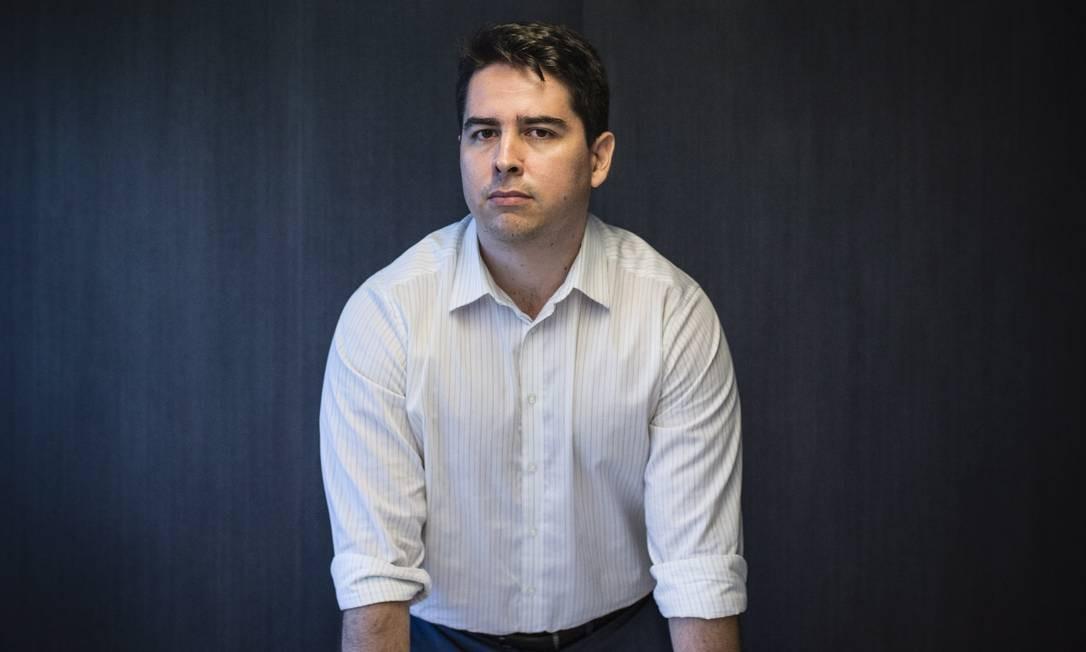O empresário Paulo Figueiredo Filho Foto: Fernando Lemos/Agência O Globo/19-11-2015