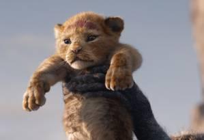 'O rei leão', da Disney Foto: Divulgação / Divulgação
