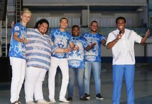 Jovens cantores foram selecionados em um concurso Foto: Cléber Júnior / Agência O Globo