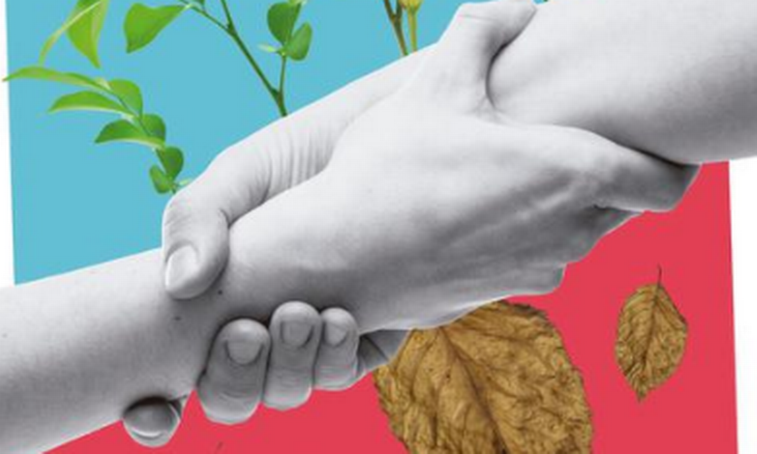 Suporte a parentes de pacientes com câncer é um dos desafios no tratamento Foto: Arte O Globo