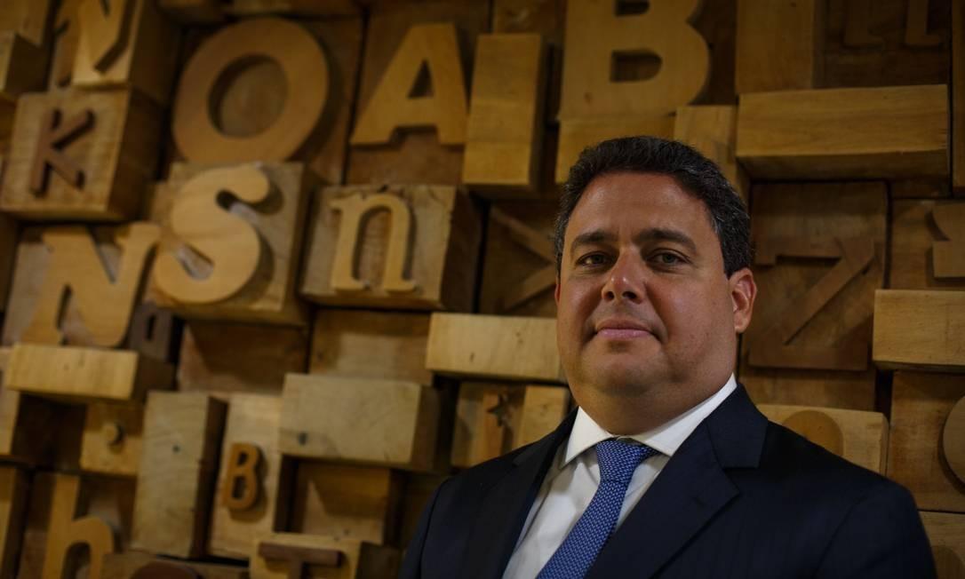 O presidente da OAB, Felipe Santa Cruz Foto: Daniel Marenco / Agência O Globo