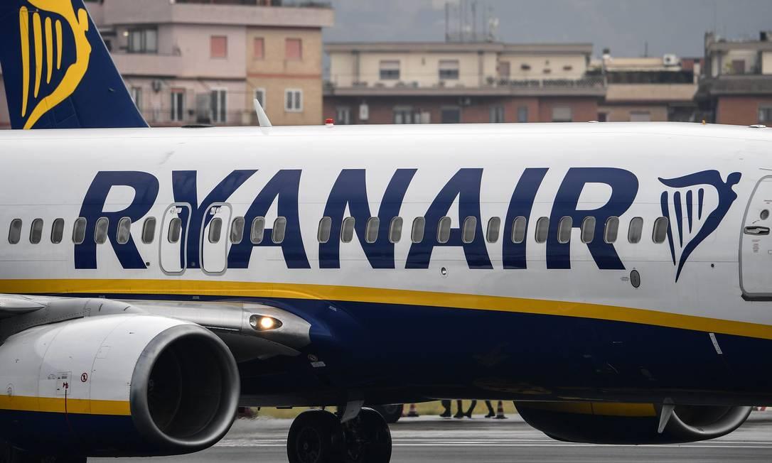 Ryanair terá quatro subsidiárias: na Irlanda, no Reino Unido, na Áustria e na Polônia Foto: ALBERTO PIZZOLI / AFP