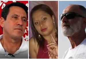 Sergio da Silva, Eliofabia Rodrigues e Roberto Silva foram vítimas de grandes tragédias Foto: Arquivo O Globo