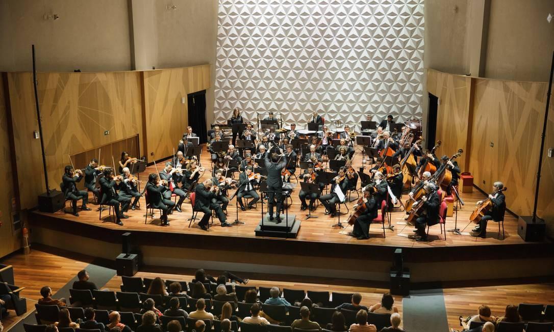 Orquestra Sinfônica Brasileira Foto: Cicero Rodrigues / Divulgação