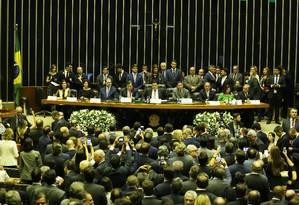 Parlamentares serão vinculados publicamente a apadrinhados políticos Foto: Jorge William / Agência O Globo