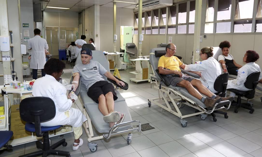A campanha busca conscientizar a população sobre a importância da doação Foto: Marcos Ramos / Agência O Globo