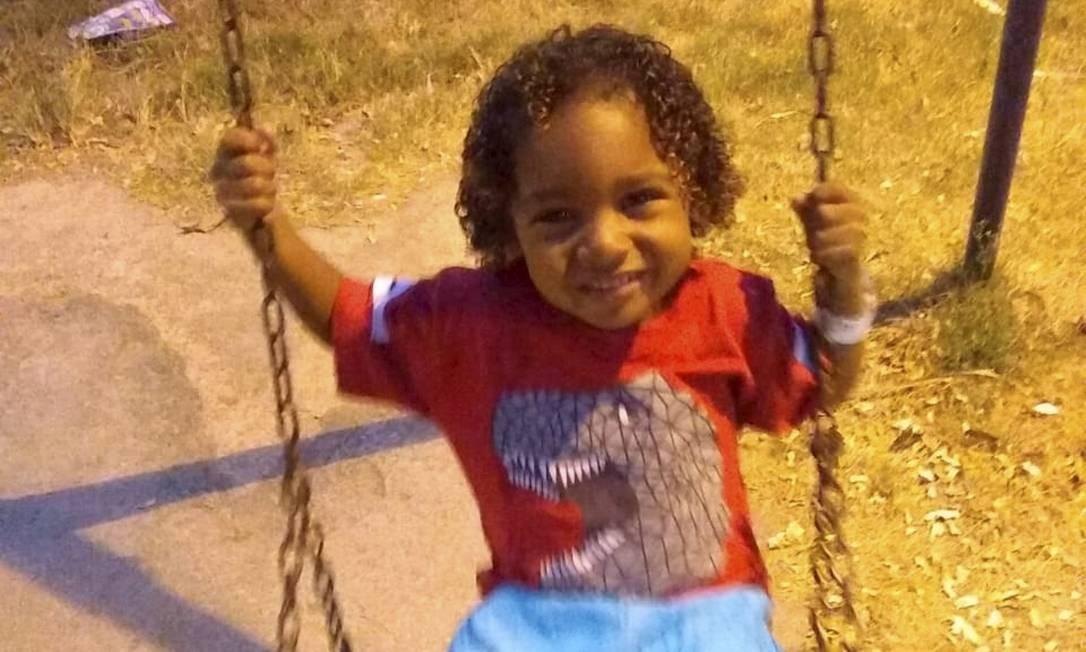 O menino Ângelo Miguel morreu de leishmaniose Foto: Arquivo Pessoal