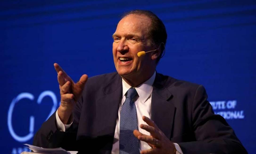 David Malpass será indicado por Donald Trump para presidir o Banco Mundial Foto: Agustin Marcarian / Reuters