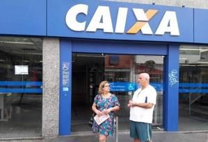 Agência da Caixa Econômica Federal. Foto: Bruno Dutra - Agência O Globo