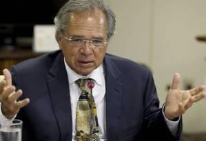 O ministro da Economia, Paulo Guedes, sempre defendeu a criação do regime de capitalização Foto: Wilson Dias - Agência Brasil