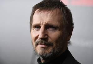 O ator Liam Neeson Foto: ANGELA WEISS / AFP