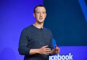 Mark Zuckerberg: pai recomendou que ele abrisse uma franquia e vendesse Big Macs Foto: BERTRAND GUAY / AFP