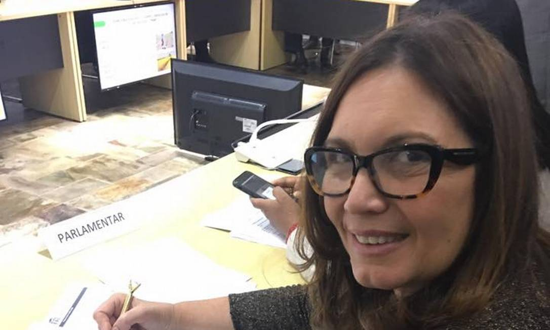 A deputada federal Bia Kicis (PSL-DF) Foto: Reprodução/Facebook