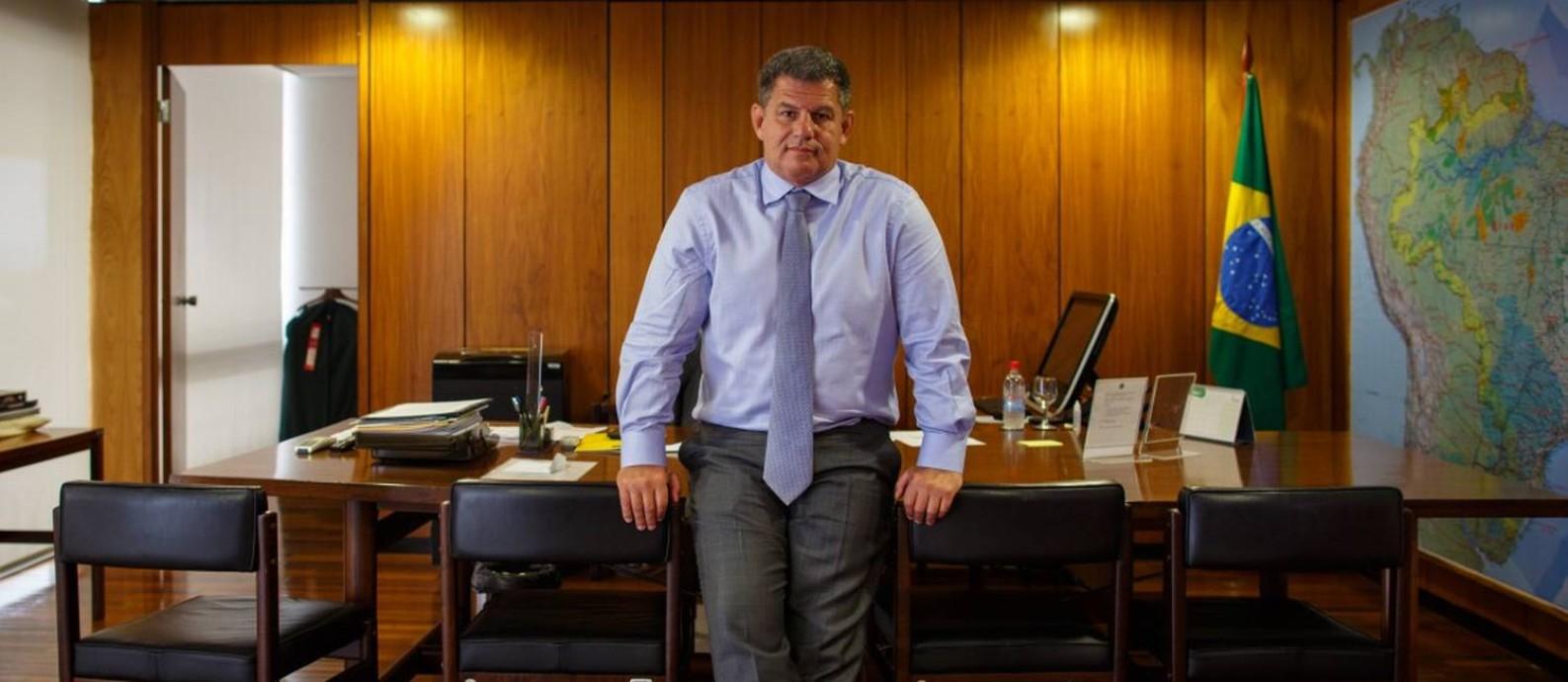 Gustavo Bebianno, ministro da Secretaria-Geral da Presidência Foto: Daniel Marenco / Agência O Globo