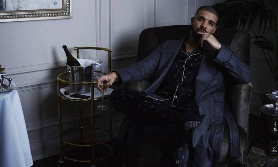 Recordista do streaming, Drake virá ao Brasil pela primeira vez Foto: Divulgação
