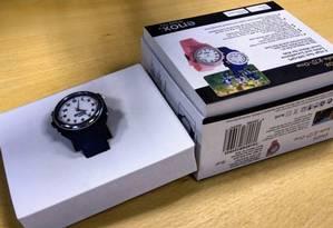 Relógio Enox-Kid-One foi criado para que pais monitorem os filhos Foto: Comissão Europeia