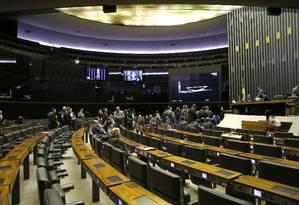 Sessão plenária da Câmara presidida pela deputada Geovania de Sá (PSDB-SC) Foto: Jorge William / Agência O Globo