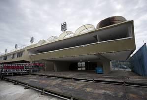 Camarote do Estado do Rio no Setor 9 Foto: Márcia Foletto / Agência O Globo