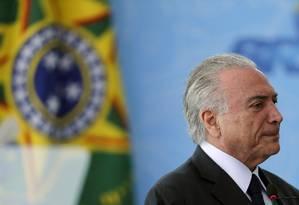 Michel Temer evita entrar em polêmicas com Bolsonaro Foto: Jorge William / Agência O Globo