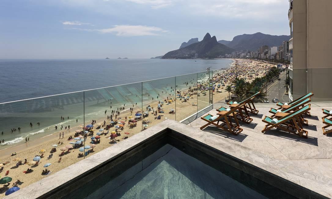 Vista do Hotel Arpoador: renovado Foto: Leonardo Finotti