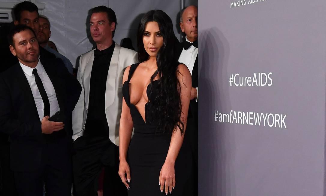 A poderosa Kim Kardashian Foto: ANGELA WEISS / AFP