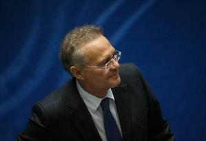 Delação que cita Renan Calheiros foi homologada no fim de novembro Foto: Daniel Marenco/Agência O Globo/02-02-2019