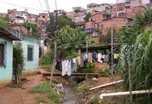 Comunidade de Pau da Lima, em Salvador, foi escolhida para a pesquisa Foto: Divulgação