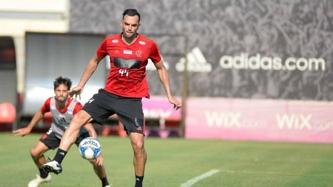 Rhodolfo é um dos titulares da zaga do Flamengo Foto: Alexandre Vidal
