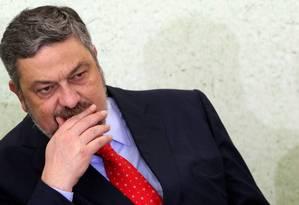 O ex-ministro Antonio Palocci disse que Lula sabia que seria alvo da 24ª fase da Operaçao Lava-Jato Foto: Gustavo Miranda / Agência O Globo