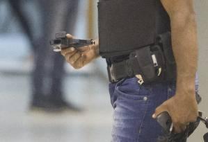 Gaeco segue atrás de foragidos da Operação Os Intocáveis, que combate milícia de Rio das Pedras e Muzema Foto: Márcia Foletto / Agência O Globo