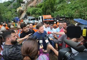 'Situação inédita', disse o prefeito Foto: Marcia Foletto / Marcia Foletto