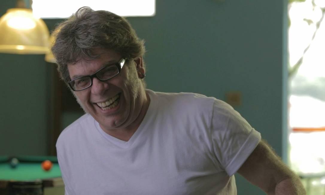 Roger Rocha Moreira no documentário Ultraje, sobre o Ultraje a Rigor Foto: Divulgação