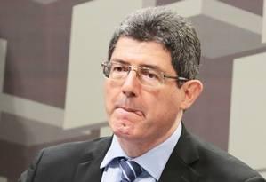 O presidente do BNDES, Joaquim Levy Foto: Ailton de Freitas - Agência O Globo