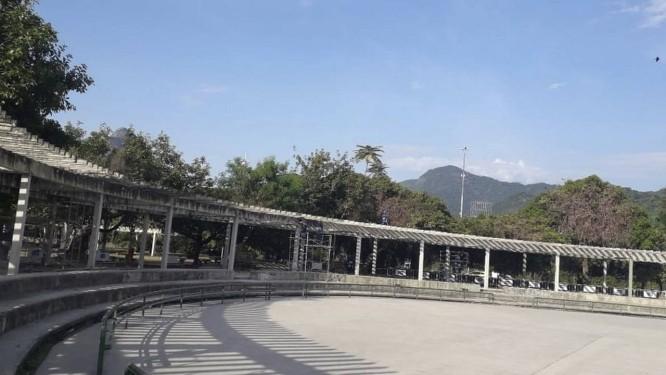Obra de recuperação dos 140 pilares custou R$ 1,4 milhão Foto: Divulgação/SMUIH