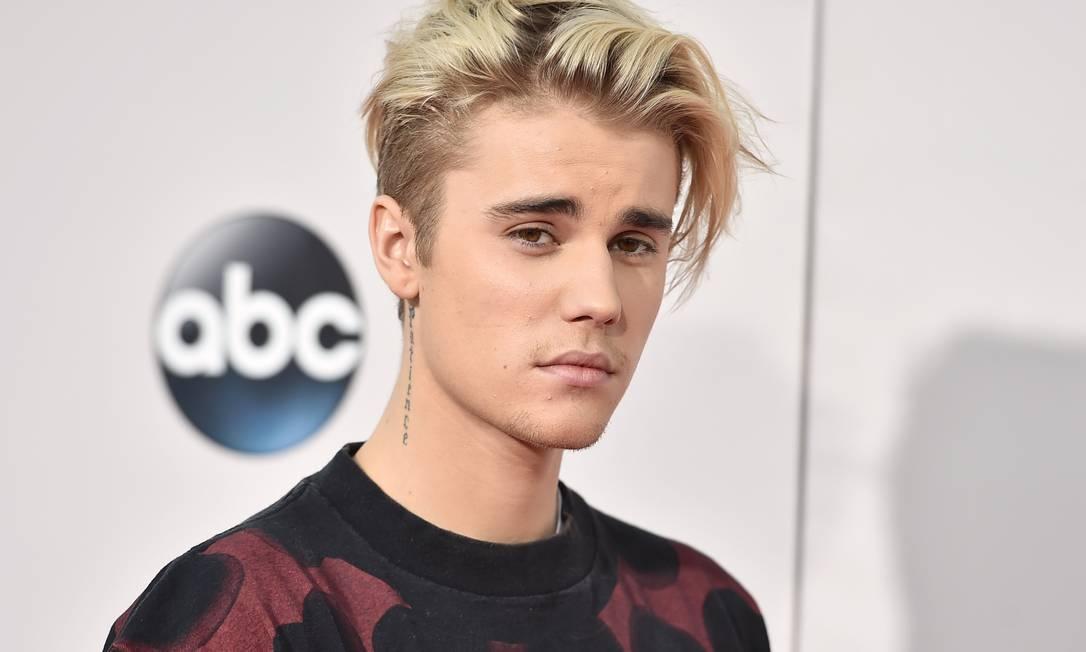 O cantor Justin Bieber, em 2015 Foto: Jordan Strauss / Invision/AP