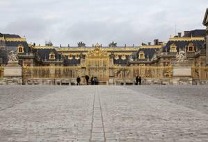 O Palácio de Versalhes, nos arredores de Paris Foto: Bloomberg