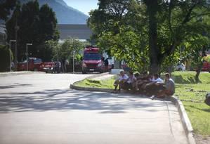 Dez pessoas morrem em incêndio no Ninho do Urubu Foto: Fabiano Rocha