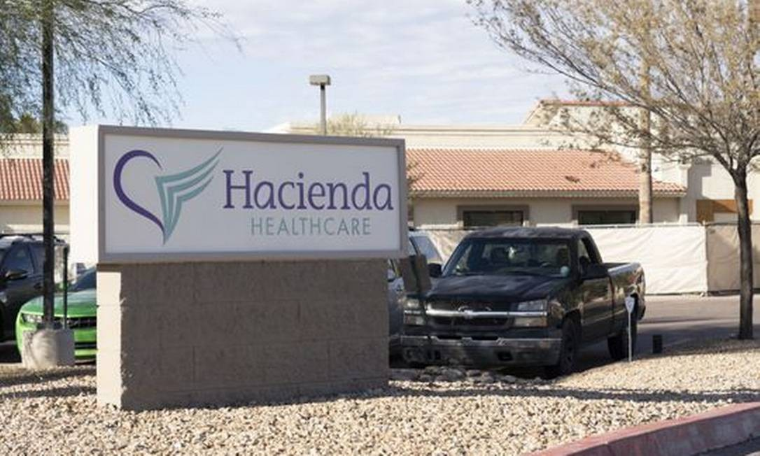 Fachada da clínica Hacienda, no estado do Arizona Foto: Divulgação