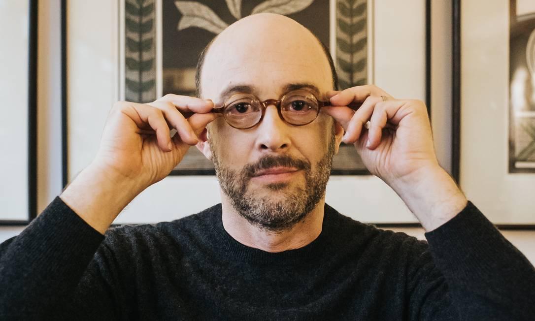 O escritor Alexandre Vidal Porto Foto: Alexia Fidalgo / Divulgação