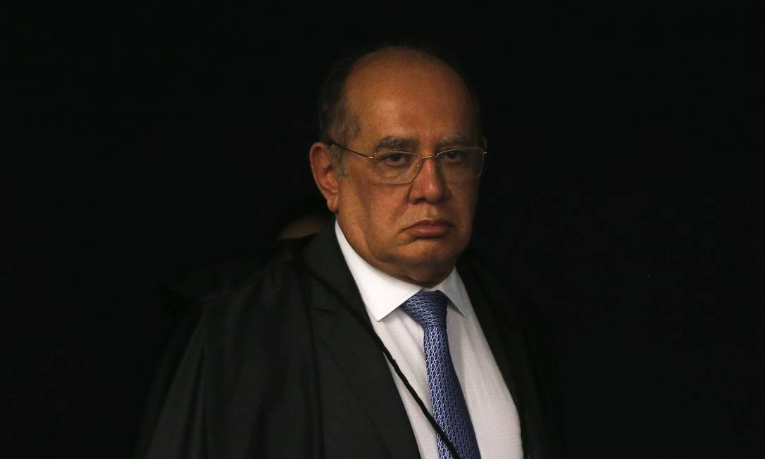 O ministro Gilmar Mendes, durante sessão da Segunda Turma do STF Foto: Jorge William/Agência O Globo/04-12-2018