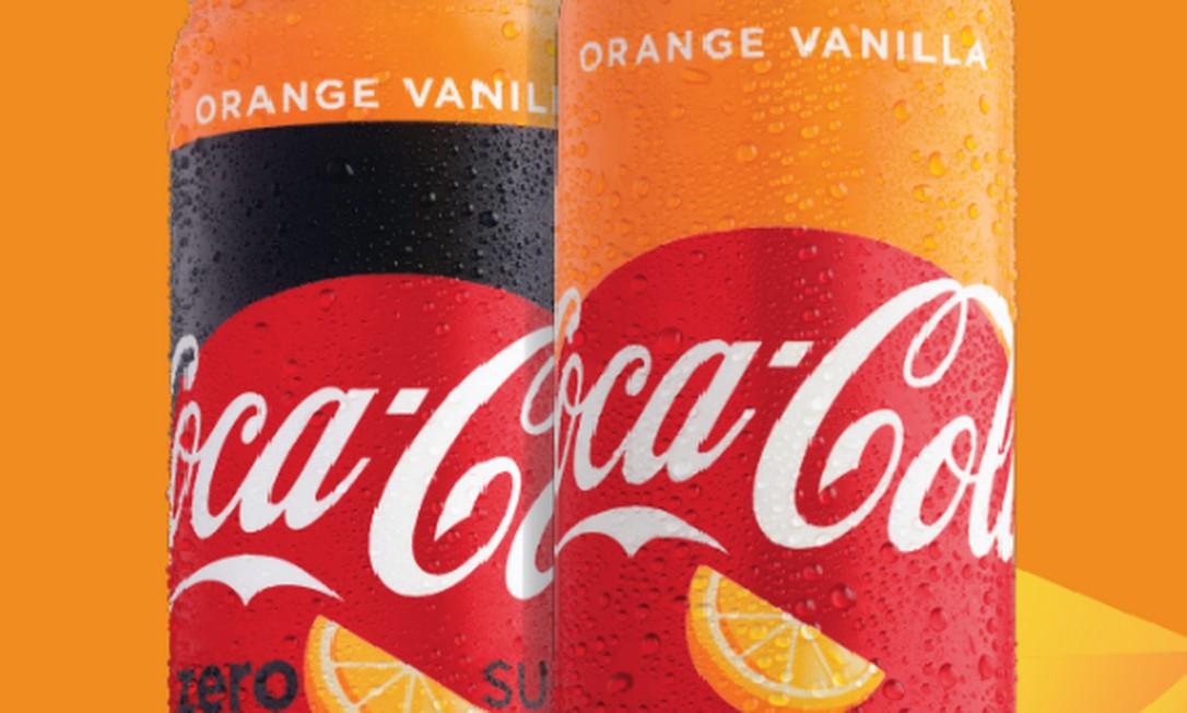 594d516cab Coca-Cola vai lançar novo sabor nos EUA  Orange Vanilla - Jornal O Globo
