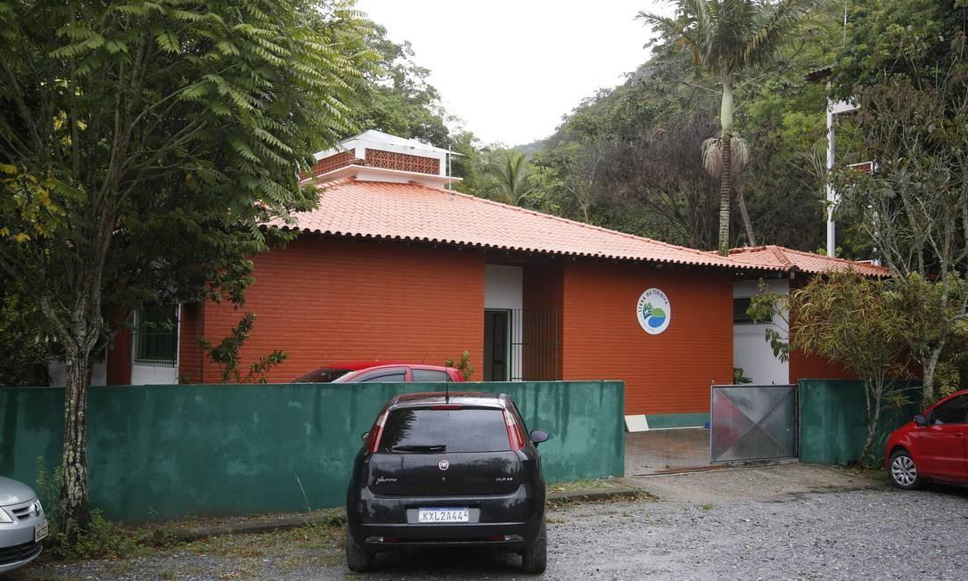 Mudança. Sede do Peset, em Itaipuaçu: mais guarda-parques nas trilhas Foto: Fábio Guimarães / Fábio Guimarães