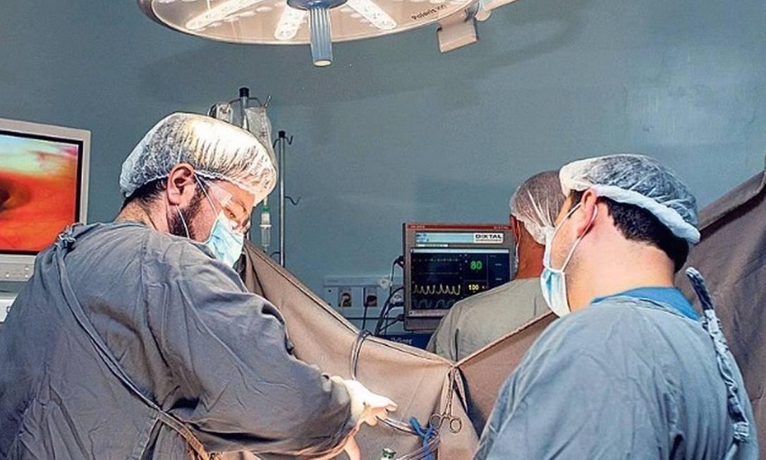 Organização médica defende que não se assine documento que restrinja atuação no parto Foto: Alexandre Carvalho / O Globo