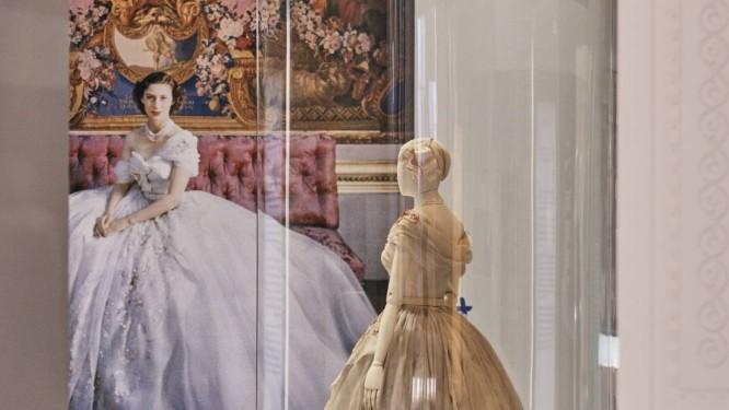 A princesa Margaret está na exposição Foto: Jamie Stoker